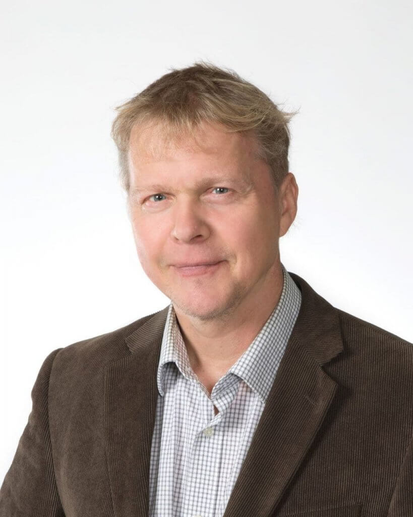 Portrait of Pekka Salmi